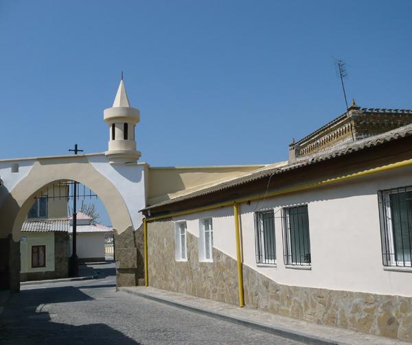 ворота на Караимской.