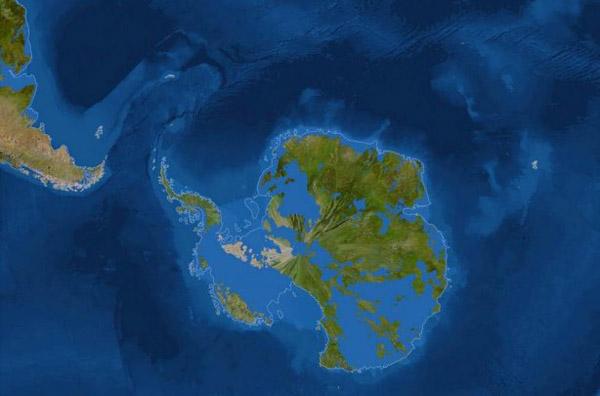 1-уровень моря -австралия