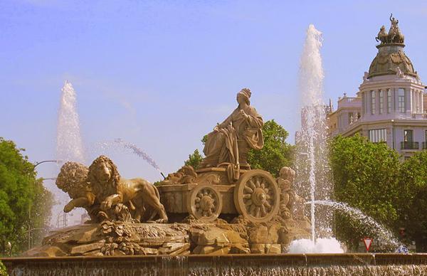 Cybele_fountain- Фонтан Кибела в Мадриде
