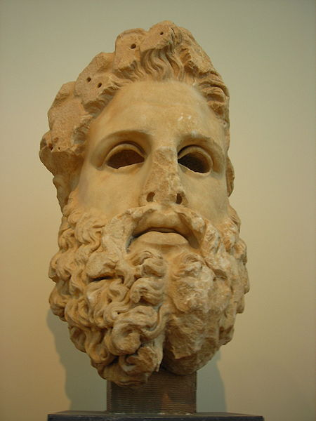 Hellenisticl_head_of_a_statue_of_Zeus_NAMA