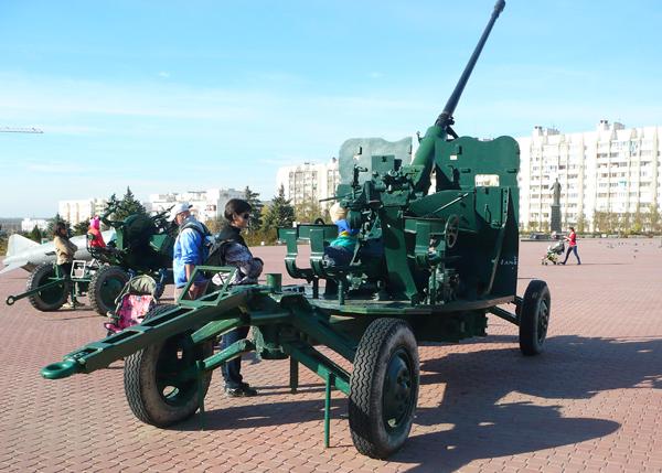 зенитная пушка