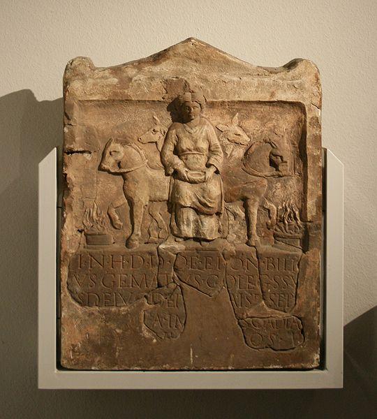 Эпона (Epona) - древнегреческая богиня-лошадей-
