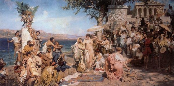 праздник посейдона в Элевсине