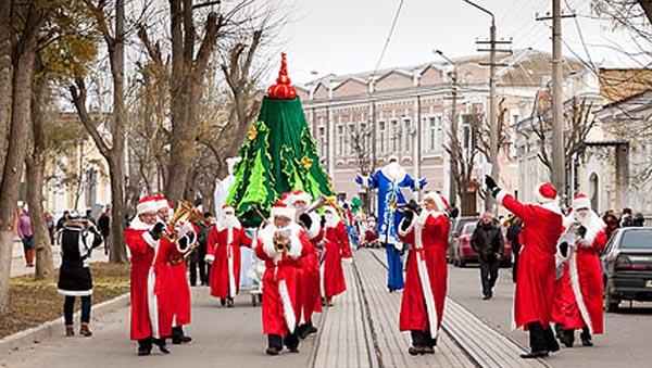 2014-Санта-Клаус отдыхает