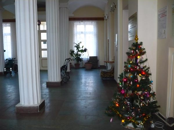 холл санатория Приморье