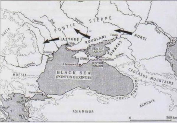 Причерноморье 1 тыс. летие до н.э.