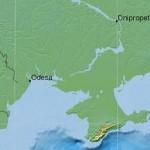 Землетрясение в Чёрном море 4 января 2014