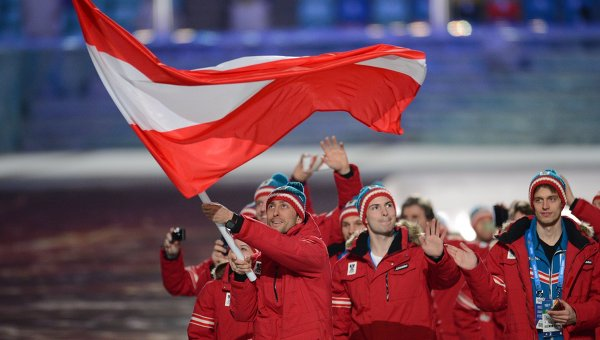 Австрийская команда
