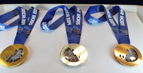 Медали зимней Олимпиады-2014.