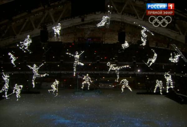 созвездия -атлетов