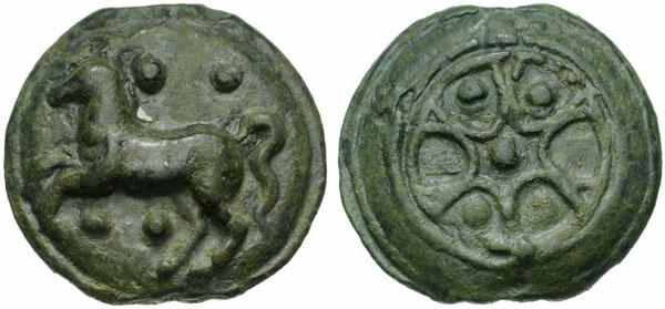 1Колесо шестью спицами -265 г до н.э.