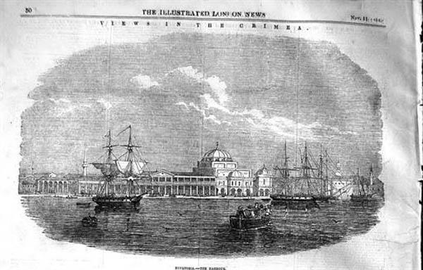 1 сентября солдаты стран союзников высадились в порту Евпатории.