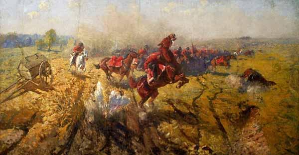 1911-Лейб-гвардии казачий полк в Бородинском сражении