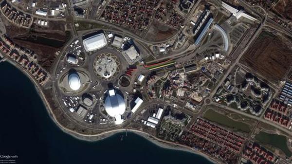 Олимпийский комплекс в Сочи