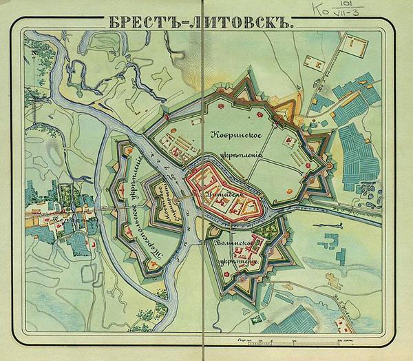 Brest_forts-Брест-Литовск