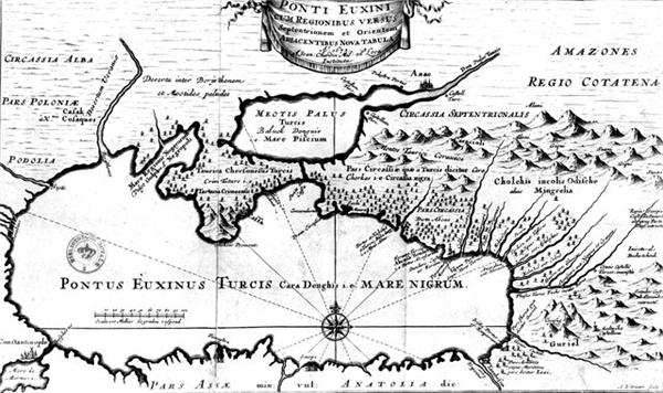 Понт Эвксинский - Море Скифское