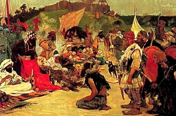 работорговля в карасу-базаре