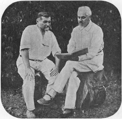 62.jpg3. П. Соловьев (справа). Ф. Ф. Шишмарев (слева