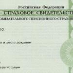 Получил российский паспорт — оформи страховой номер