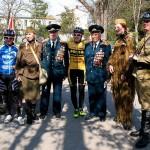 Велопробег в честь 70-летия освобождения Евпатории от фашистов