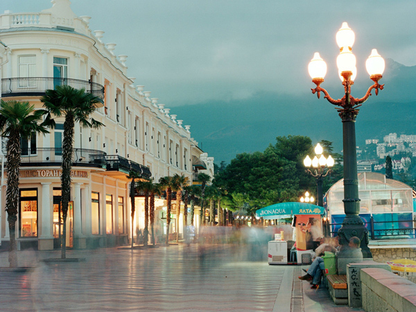 Promenade in Yalta
