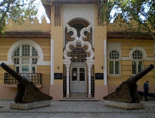 Муз-1914-особняк Гелеловича-1921-музей+пушки-1877