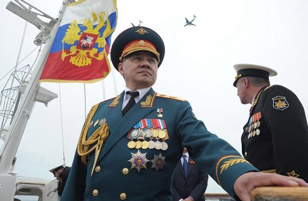 Министр обороны России-Сергей Шойгу