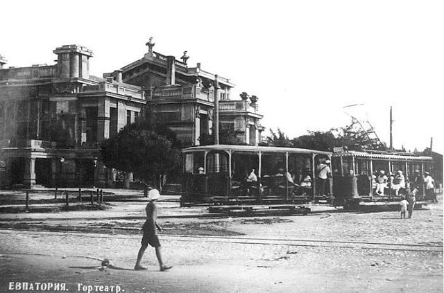 1914 год-театр-дачи