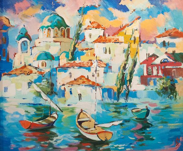 картин Бориса Завальнюка.--=