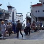 Новый маршрут парома из Турции в Крым