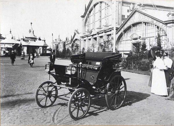 16 июля 1896 г.- Первый русский автомобиль на ярмарке н-новгород