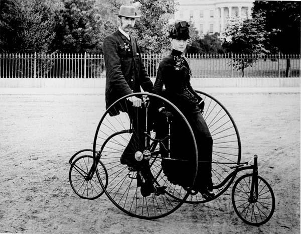 Квадроцикл 1886 год.