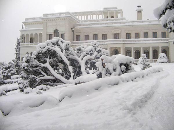 зима в Ливадии