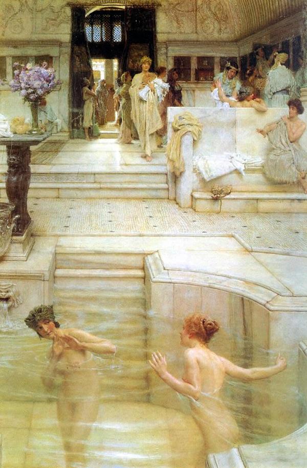 Древнегреческая купальня ванна