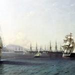 Черноморский флот награждён Георгиевским флагом.