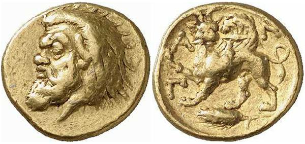 Левкон I, 390-350 гг до н. э.