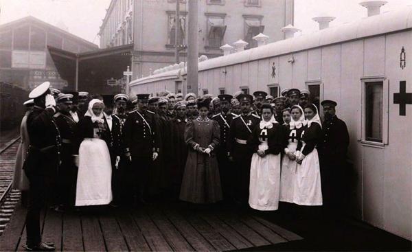Медицинский Поезд Ее Императорского Высочества