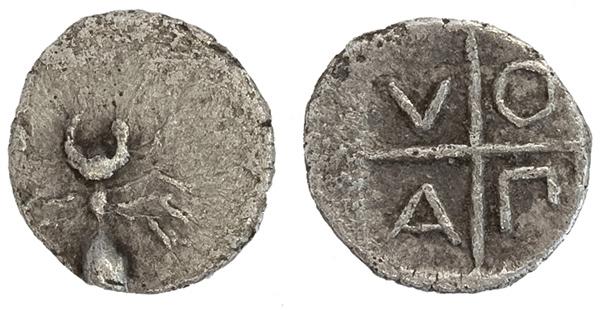 Тетартемарий-серебро-460г.до н.э.-муравей-АПОЛ