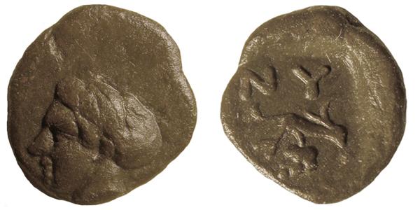 гемиобол-413г.до н.э.- Нимфеи-NY+лоза