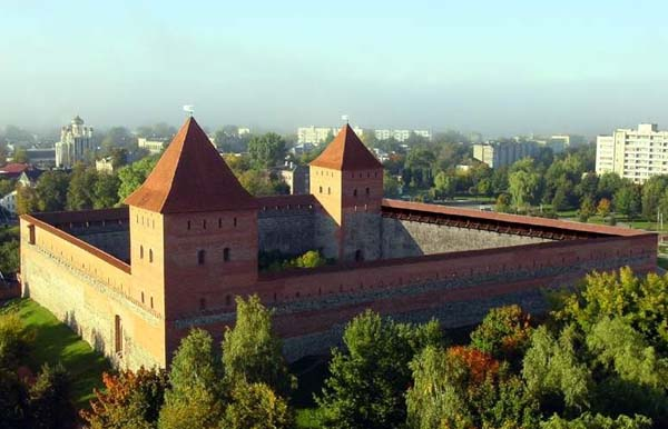 Замок князя Гедимина в Вильнюсе