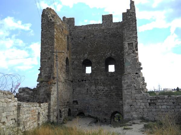 феод.крепость