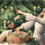 Обычай наряжать ёлку на Рождество