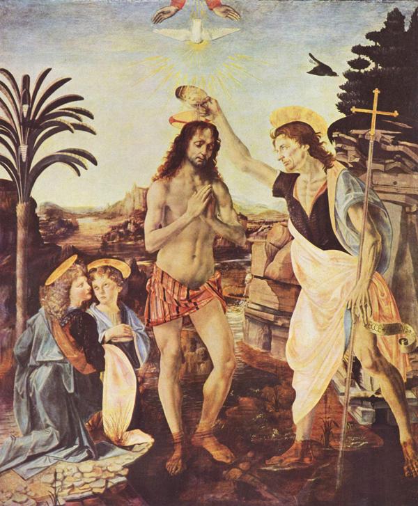 Leonardo_da_Vinci_Крещение