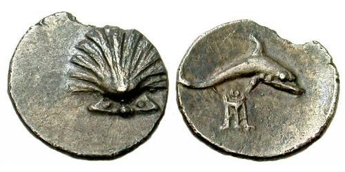 Calabria-Tarentum, AR Litra, c.280-228 BC