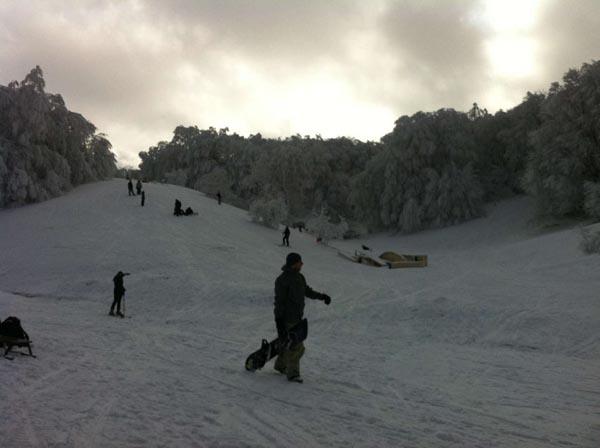 zima v gorah
