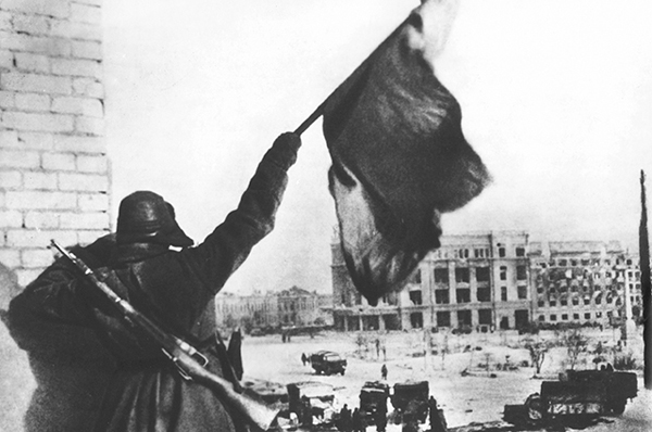 Capitulation of the 6th Army in Stalingrad, 1943