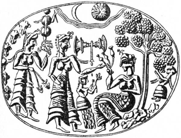 1-Лабрис и мак на золотом кольце -крит