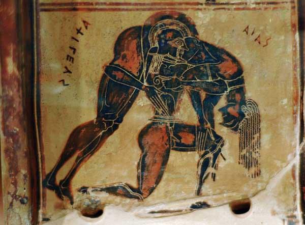 АкиЛевс и Айякс - 6 в. до н.э.