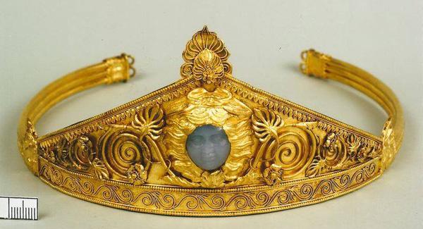 Древнегреч диадема найдена в Причерноморье - 450 до н.э.