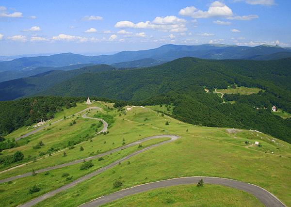 болгария-серпантин дорог